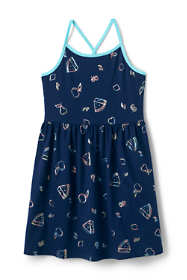 Little Girls Strappy Tank Dress