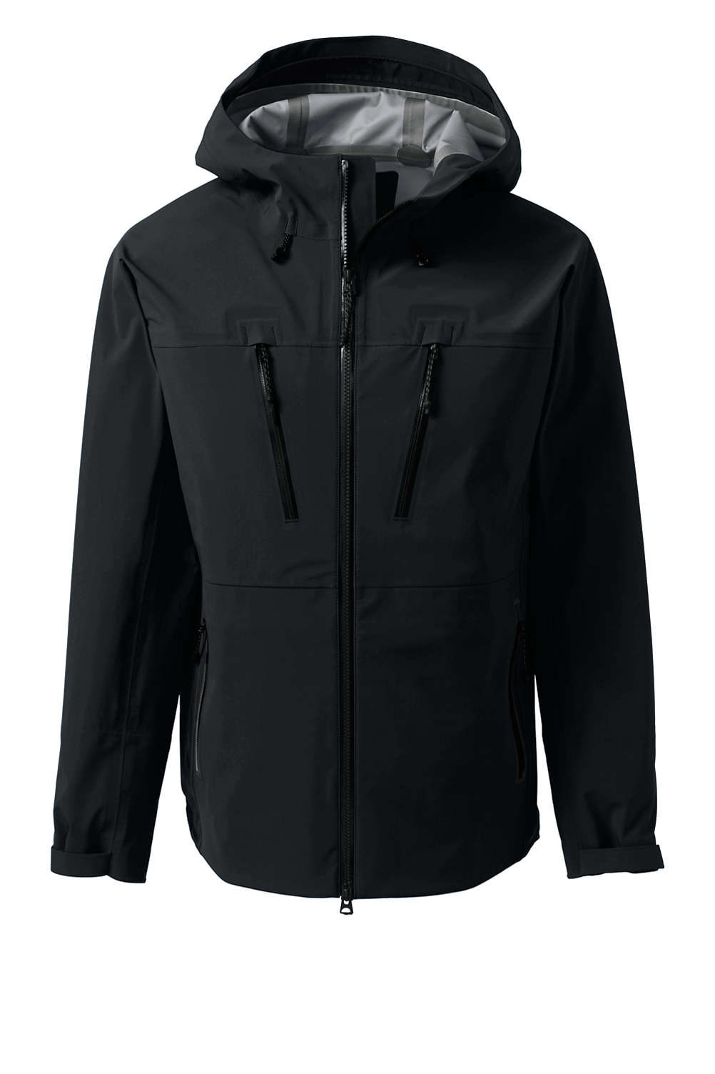 4fc924fbad9fd Men's Ultimate Waterproof Rain Jacket from Lands' End