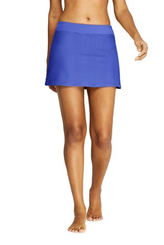 9834178a39 Women's Texture SwimMini Swim Skirt from Lands' End