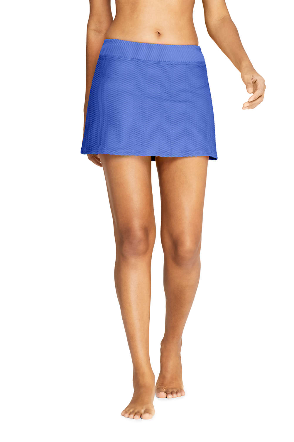 da8f800ef37 Women's Texture SwimMini Swim Skirt from Lands' End