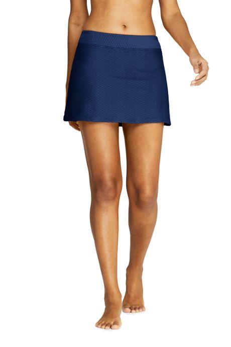 Women's Texture Swim Skirt Swim Bottoms