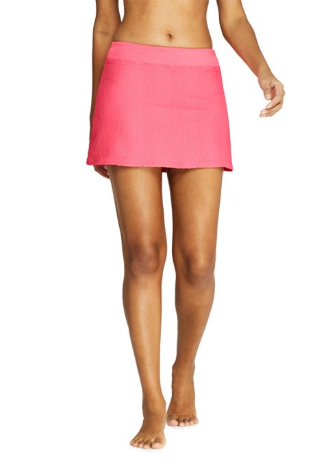 Women's Texture SwimMini Swim Skirt