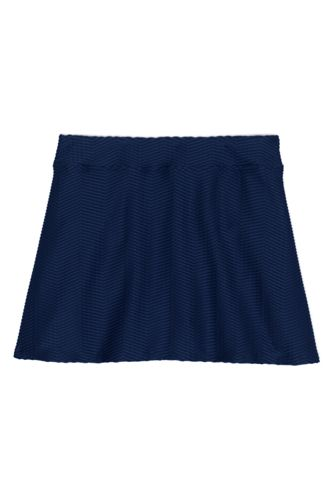 Women's Plus Size Texture Swim Skirt Swim Bottoms