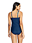 Women's Beach Living Square Neck Tankini Top, Jacquard - DD Cup