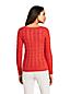 Zopfmuster-Pullover DRIFTER mit V-Ausschnitt für Damen