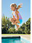 Débardeur Tankini Sport Graphique, Petite Fille