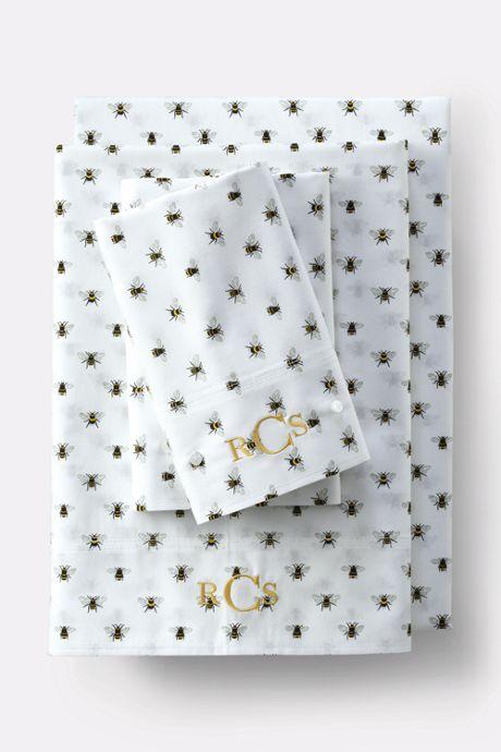 Oxford Print Pillowcases