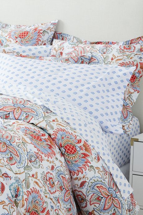 Italian Percale Printed Sheets