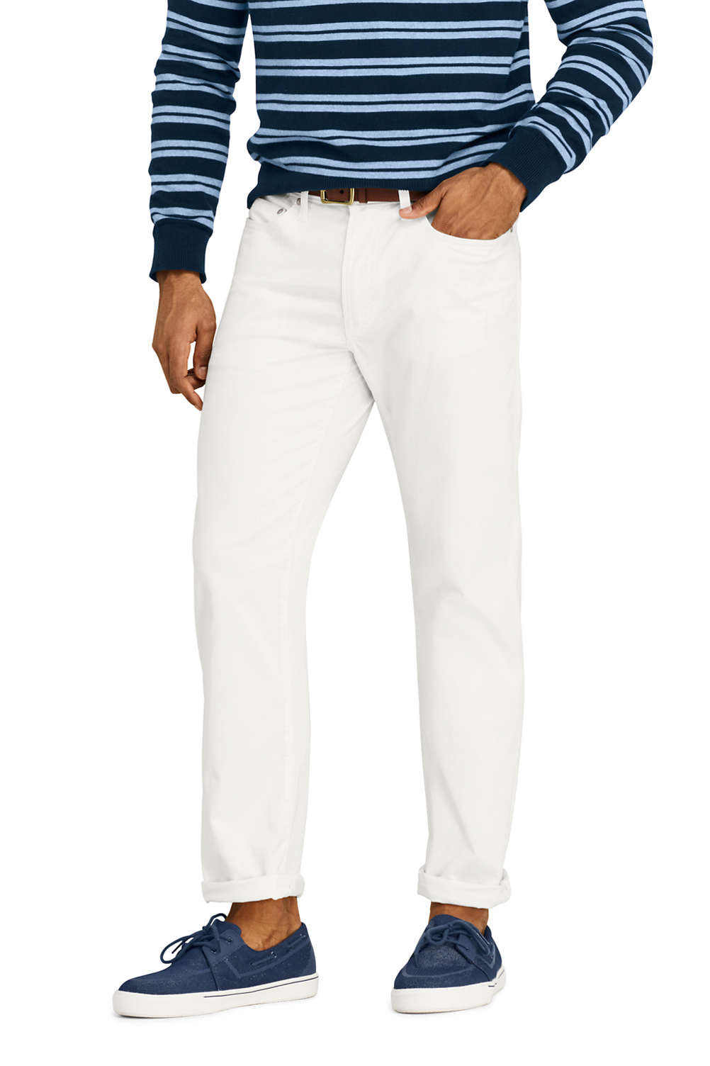 e9a77881 Men's Straight Fit Stretch Garment Dye 5 Pocket Knockabout Chino Pants from  Lands' End