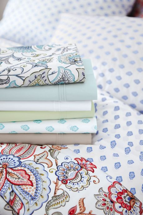 Italian Percale Printed Pillowcases