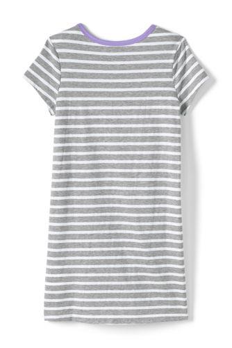 Girls Knit Tee Shirt Dress