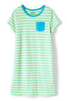 Robe T-Shirt en Coton, Fille