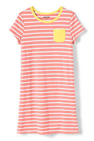 Little Girls Knit Tee Shirt Dress