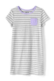 Girls Knit Tee Shirt Dress