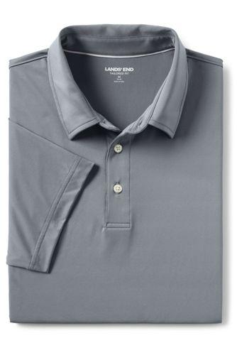 Men's Tailored Short Sleeve Comfort-First Golf Polo Shirt