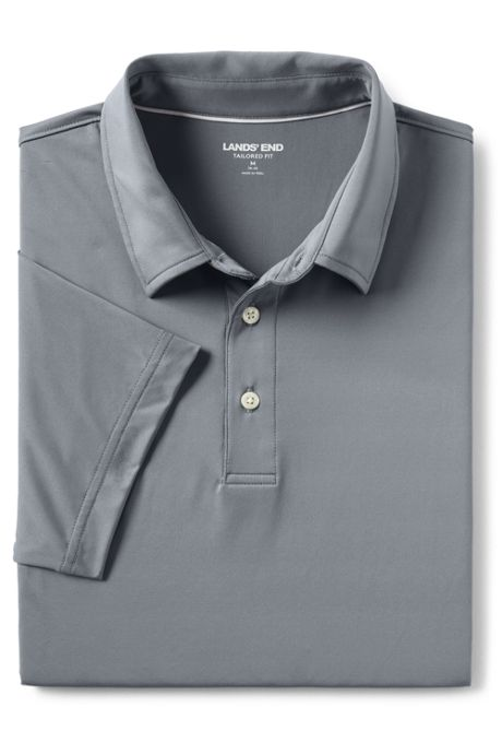 Men's Tailored Short Sleeve Performance Golf Polo