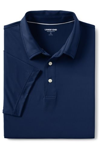 Men's Tailored Short Sleeve Comfort-First Golf Polo Shirt