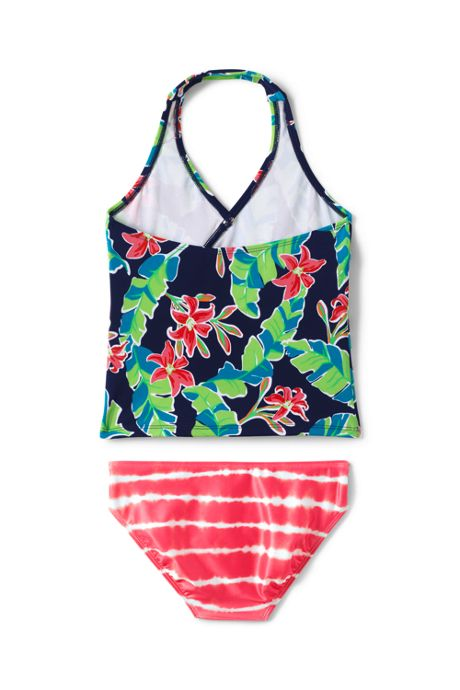 Toddler Girls Tiered Tankini Set