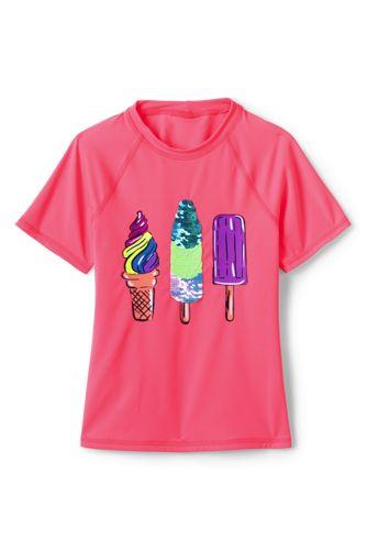 T-Shirt de Bain Graphique, Fille