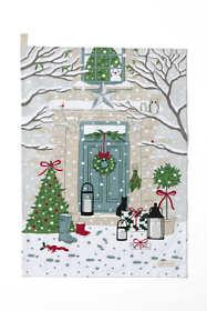 Christmas Tea Towel by Sophie Allport