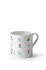 Christmas Skiing Mug by Sophie Allport