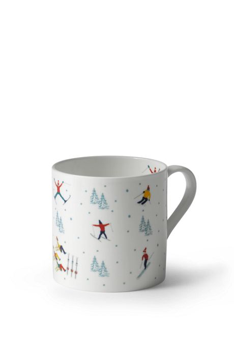 Christmas Skiing Mug by Sophie Allport