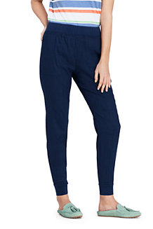 Women's Stretch Linen Mix Joggers