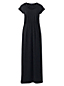Maxi Robe Col au Crochet, Femme Stature Standard