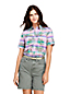 Women's Short Sleeve Madras Shirt