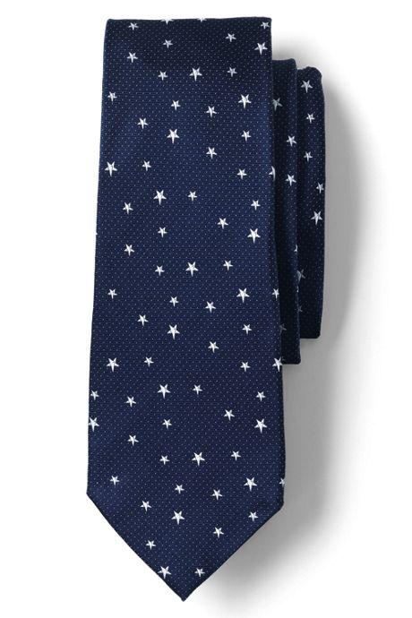 Men's Silk Flying Stars Tie