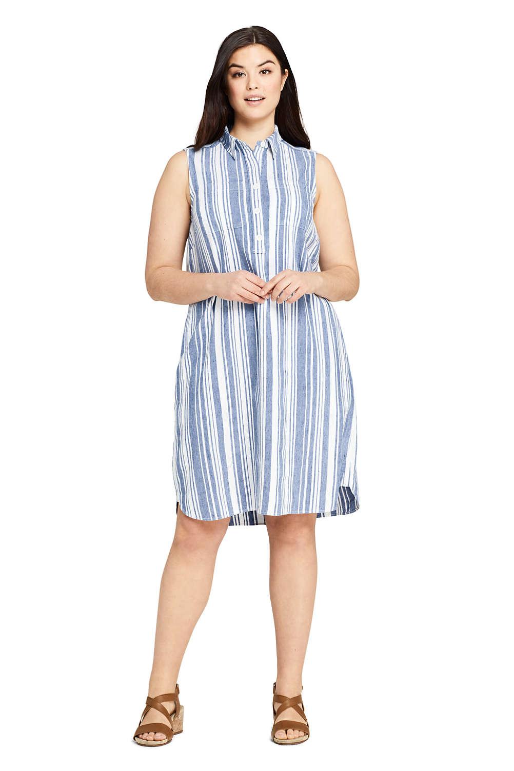 Casual Shirt Dress Plus Size – DACC