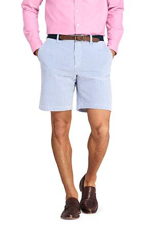 attractivefashion numerousinvariety great deals on fashion Men's Stretch Seersucker Shorts   Lands' End