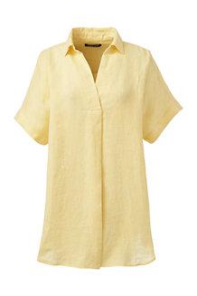 Women's Linen Popover Tunic