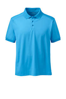 Men's Short Sleeve Rapid Dry Active Polo Shirt, Front