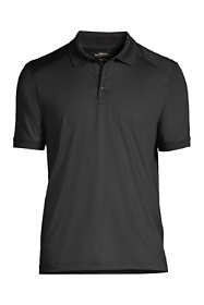 School Uniform Men's Big Short Sleeve Rapid Dry Active Polo Shirt
