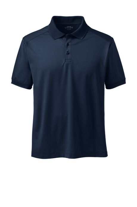 Men's Big Short Sleeve Rapid Dry Active Polo Shirt