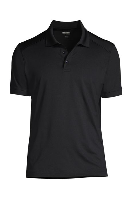 Men's Custom Logo Short Sleeve Rapid Dry Active Polo Shirt