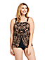 Tankini Double Pan Léger à Motifs, Femme Taille Standard