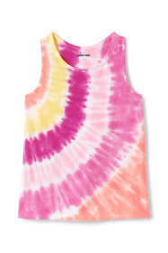 Girls Plus Size Tie Dye Tank Top