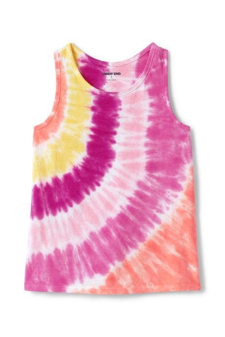 Little Girls Tie Dye Tank Top
