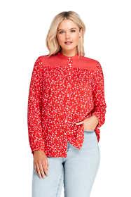 Women's Plus Size Casual Pattern Soft Blouse