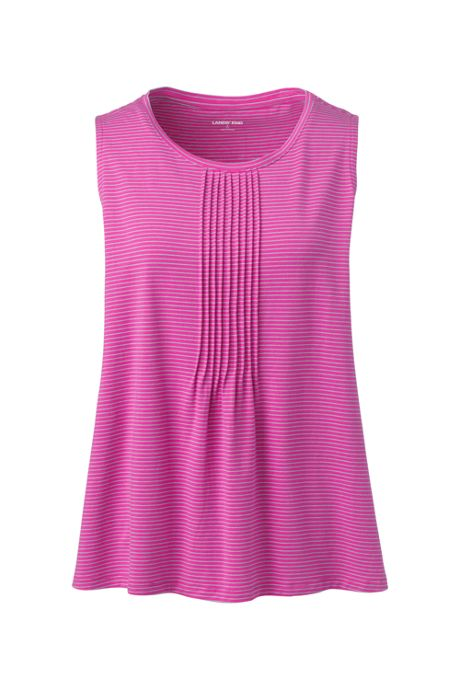 Women's Pintuck Tank Top