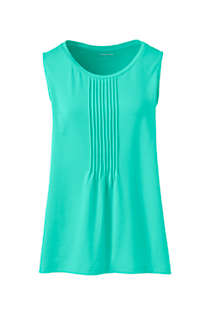 Women's Plus Size Pintuck Tank Top, Front