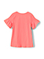 Girls' Ruffle Sleeve Jersey T-shirt