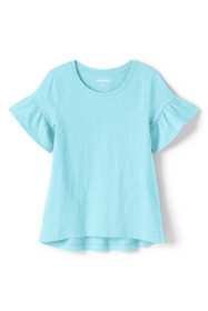 Little Girls Ruffle Sleeve Top