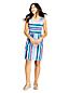 Robe Sans Manches Imprimée en Jersey Stretch, Femme Stature Standard