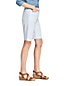 Women's Mid Rise Herringbone 10″ Bermuda Chino Shorts