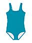 Maillot 1 Pièce Tugless Uni, Femme Stature Standard