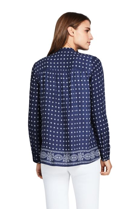 Women's Casual Pattern Soft Blouse