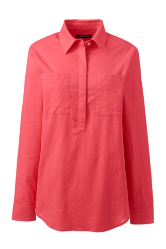 Women's Cotton/Linen Popover